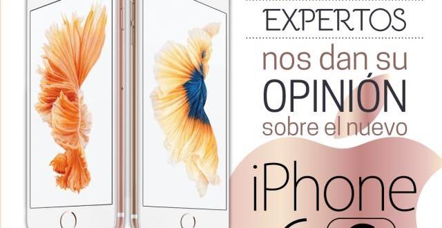 Infografía lo mejor y lo peor del iPhone 6S
