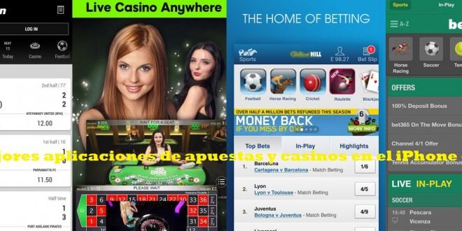 Las mejores aplicaciones de apuestas y casinos en el iPhone e iPad