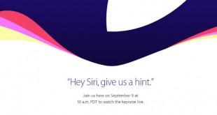 Keynote Apple en directo iPhone 6S, iPhone 6S Plus, iPad Pro, WatchOS 2, Apple TV