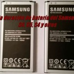 Mejorar la duración de batería del Samsung Galaxy S6, S5, S4 y otros sin ser root