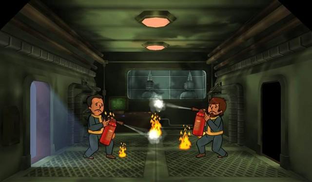 Fallout Shelter Experimentos en los refugios