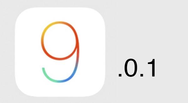 Apple lanza iOS 9.0.1 para el iPhone 6s y 6s Plus