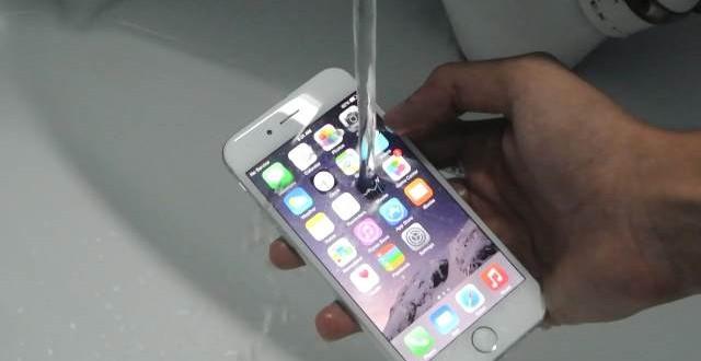 ¿iPhone 6s y 6s Plus resistentes al agua?