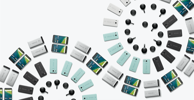Dos nuevos teléfonos Nexus 5X y 6P, una nueva versión de Chromecast, Chromecast para Audio, y Pixel C