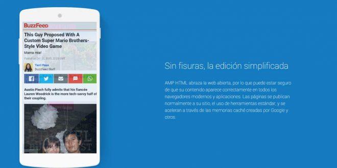 ¿Qué es la AMP? ¿Cómo hacer una página Web AMP Accelerated Mobile Page?
