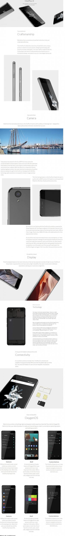 Infografía OnePlus X el mejor móvil Android chino de gama media y asequible