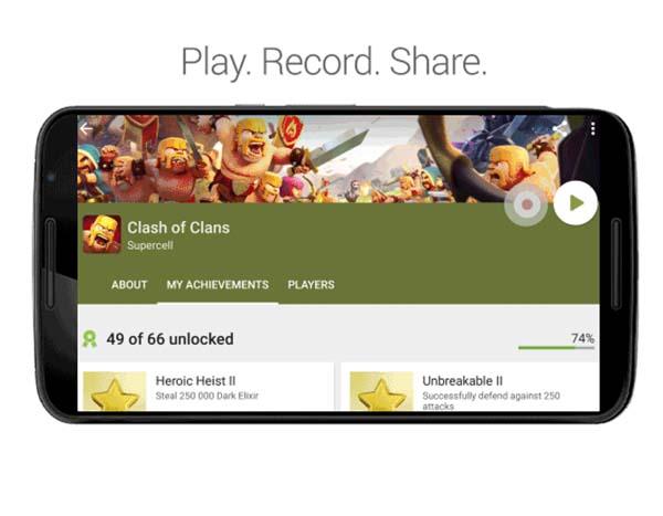 Google Play Games permite grabar las partidas de tus juegos en Android