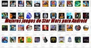 Mejores juegos de Star Wars para Android