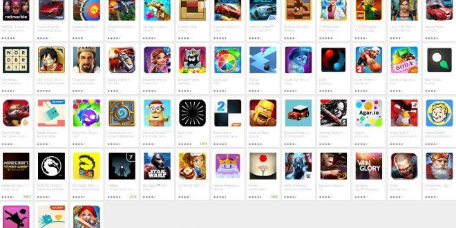 Los mejores juegos de Android 2015 y 2016 según Google