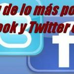 Ranking lo más popular en Facebook y Twitter en 2015