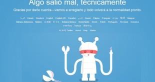 Twitter se cae en todo el mundo