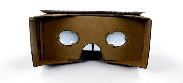 Google ha vendido 5 millones de gafas Cardboard