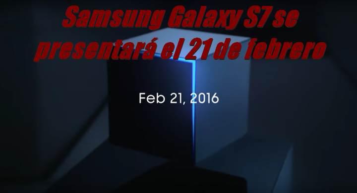 siguiente samsung galaxy s7 se presentar el 21 de febrero