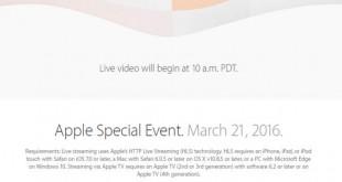 Directo Keynote de Apple 2016