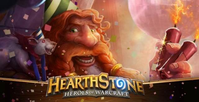 Hearthstone segundo aniversario y nuevo parche 4.2.0