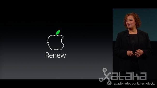 reciclaje apple