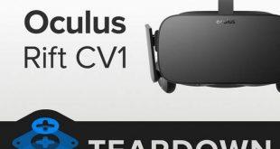 Desmontaje Oculus Rift por iFixit