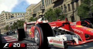 El juego de Fórmula 1 por excelencia. F1 2016 llegará este verano para PS4, Xbox One y PC