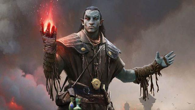 The Elder Scrolls Legends Elfos oscuros