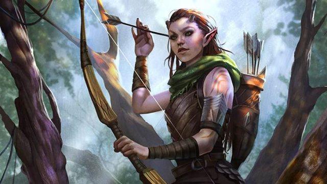 The Elder Scrolls Legends Elfos del bosque