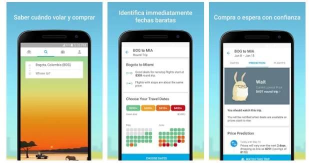 Mejor Startup de Google Play Awards 2016</strong> ha sido la aplicación Hopper. a viajar barato,.