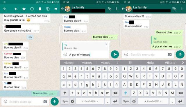 ¿Cómo funciona nuevo WhatsApp 2.16.118 Beta añade citas y respuestas a mensajes?