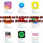 Lo más descargado en la primera semana de Junio en la App Store: Facetune, WhatsApp, Minecraft y slither.io
