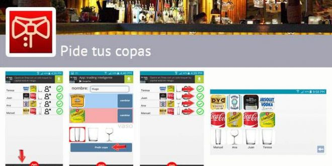 Pide tus copas la app para hacer rondas en los bares con los amigos