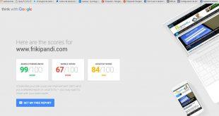 Revisa la calidad de tu web. WPO Think with Google