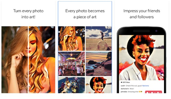 Prima. Las mejores aplicaciones de retoque fotográfico para Android