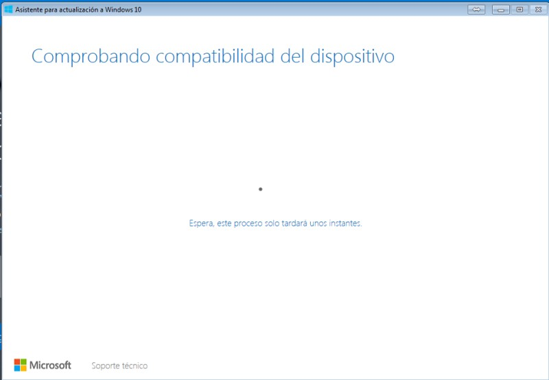 ¿Cómo actualizar o instalar Windows 10 en tu PC con el el lanzador Windows 10 Upgrade? paso 2