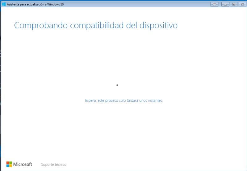 ¿Cómo actualizar o instalar Windows 10 en tu PC con el el lanzador Windows 10 Upgrade? paso 2