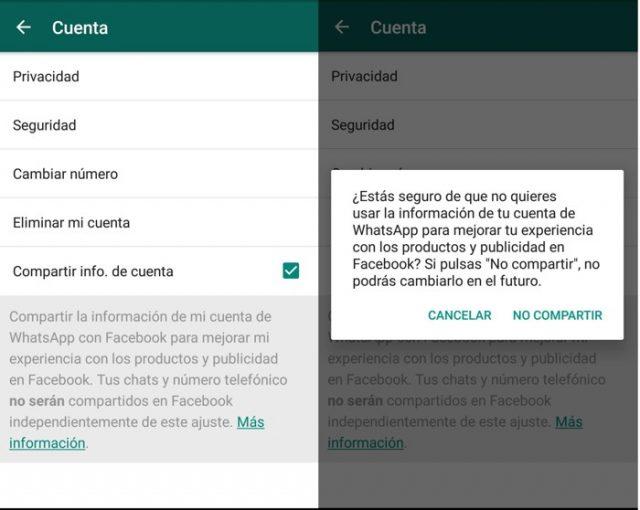 WhatsApp Messenger se actualiza de nuevo con la versión 2.16.236 en Beta