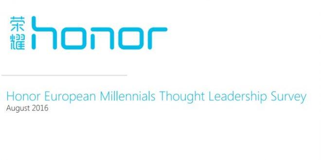 Honor y PSB publican una encuesta sobre millennials europeos