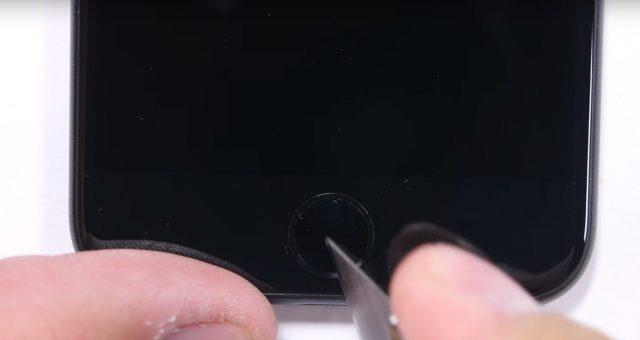 Test de resistencia del iPhone 7 botón inicio