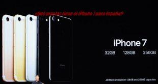 ¿Qué precios tiene el iPhone 7 para España?