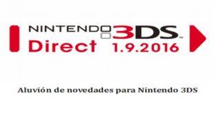 Aluvión de novedades para Nintendo 3DS