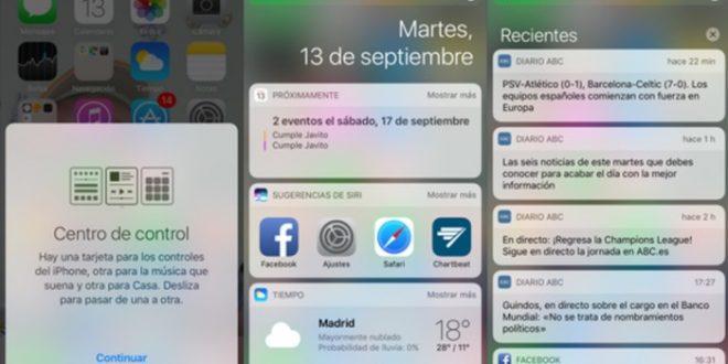 Las características de iOS 10 más importantes
