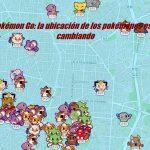 Pokémon Go: la ubicación de los pokémones está cambiando
