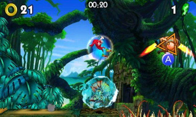 Celebra el 25 aniversario de Sonic. Corre a toda velocidad con Sonic y su panda usando el poder del fuego y del hielo. Celebra el 25 aniversario de Sonic y domina los elementos en Sonic Boom: Fuego y Hielo, disponible para la familia de consolas Nintendo 3DS el 30 de septiembre