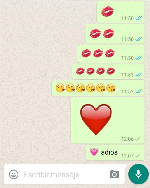 WhatsApp 2.16.256 con emojis más grandes