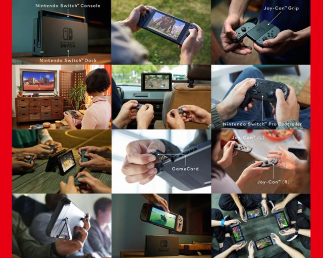 Nintendo Switch una consola doméstica se une la movilidad de una consola portátil