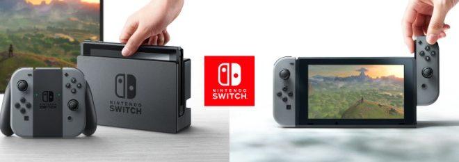 Nintendo Switch la nueva consola estará disponible en marzo de 2017