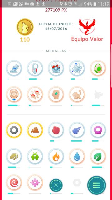 Actualización de Pokémon GO  0.41.1 novedades
