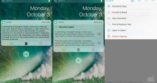 Los mejores Widget para iOS 10. Saca partido a tu iPhone o iPad con iOS 10.