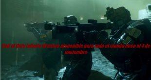 Call of Duty Infinite Warfare disponible para todo el mundo dese el 4 de noviembre