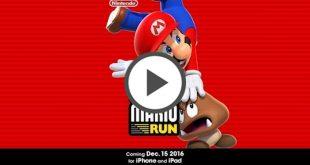 Super Mario saltará a iPhone y iPad el 15 de diciembre