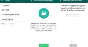 Novedades Whatsapp. GIFs animados y verificación en dos pasos