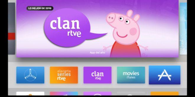 La app de Clan, mejor aplicación del 2016 en España para Apple TV