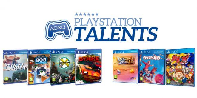 PlayStation Talents presentan sus juegos para estas navidades en PS4